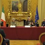 Flavia Piccoli Nardelli e Stefano Folli