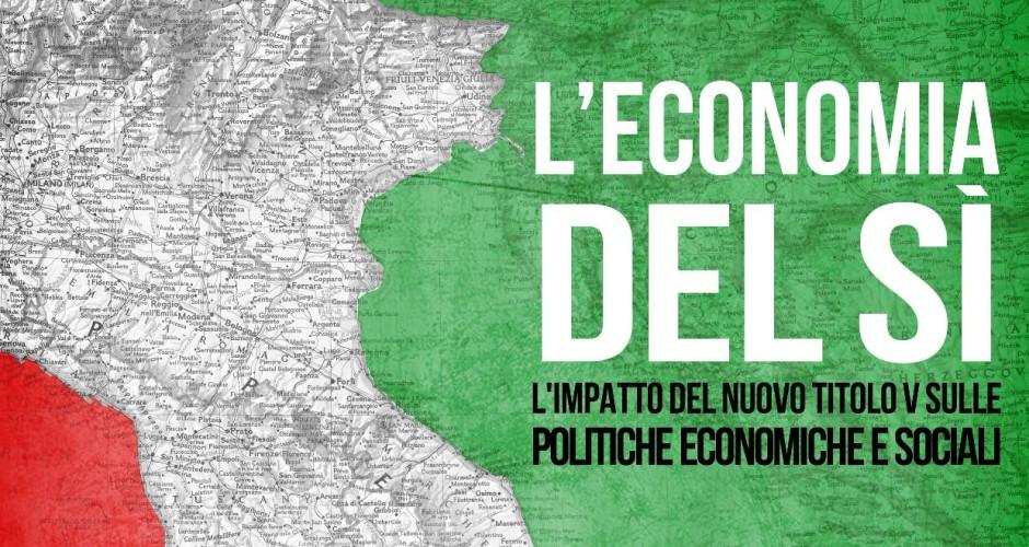 Referendum costituzionale: l'economia del sì, il mio contributo su cultura e turismo