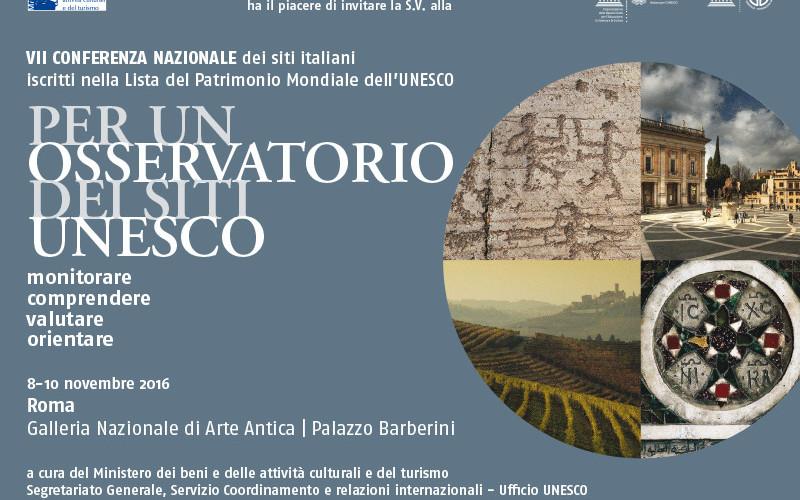 Lo sviluppo di politiche volte a preservare i siti italiani posti sotto la tutela dell'UNESCO