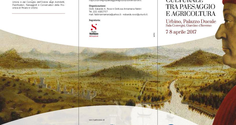 PATRIMONIO CULTURALE TRA PAESAGGIO E AGRICOLTURA