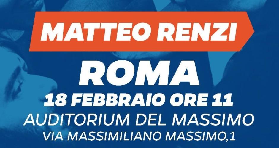 Matteo Renzi: insieme per il futuro di Roma e dell'Italia