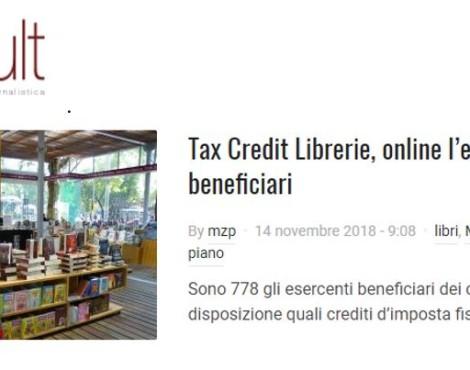 Tax credit librerie, firmato il decreto