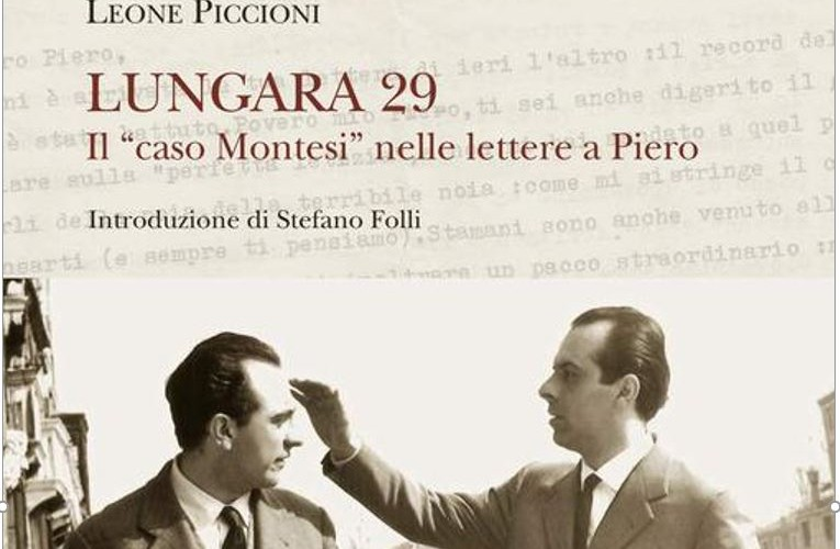 """Premio Letterario Basilicata: """"Lungara 29. Il caso Montesi nelle lettere a Piero"""""""