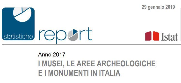 Istat: i musei, le aree archeologiche e i monumenti in Italia
