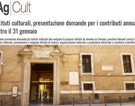 17 mln in più a istituti culturali dimostrano visione