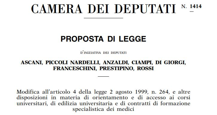 La proposta del PD per migliorare l'accesso all'università