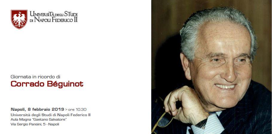 Corrado Beguinot e le fondazioni culturali