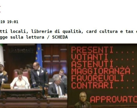 Tax Credit Librerie, online l'elenco dei beneficiari