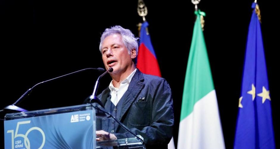 """150 anni AIE, Baricco: """"I prossimi 150 anni passeranno in 30"""""""