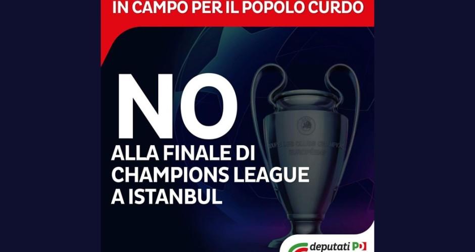 No alla finale di Champions League 2020 a Istanbul