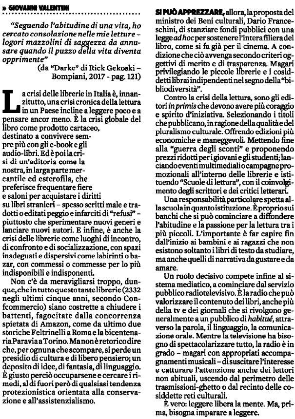 IlFattoQuotidiano Librerie in crisi più a rischio il libero pensiero