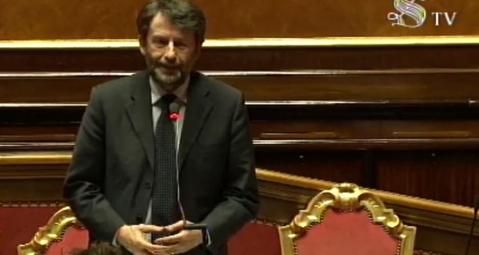 Franceschini: legge promozione lettura è importante passo avanti