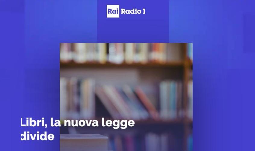 """RaiRadio1, Centocittà: """"libri, la nuova legge divide"""""""