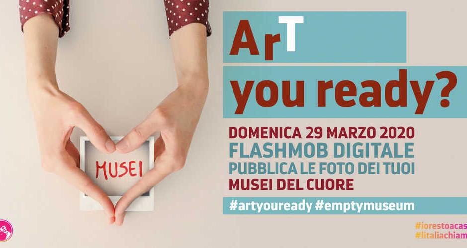 #Artyouready: il 29 marzo flashmob del patrimonio culturale