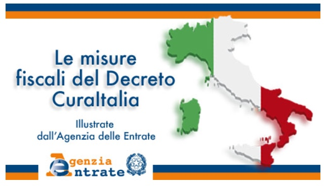 Misure fiscali del decreto Cura Italia, il vademecum dell'Agenzia delle Entrate