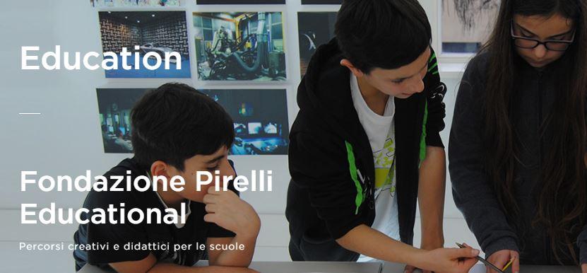 L'offerta di e-learning di Fondazione Pirelli
