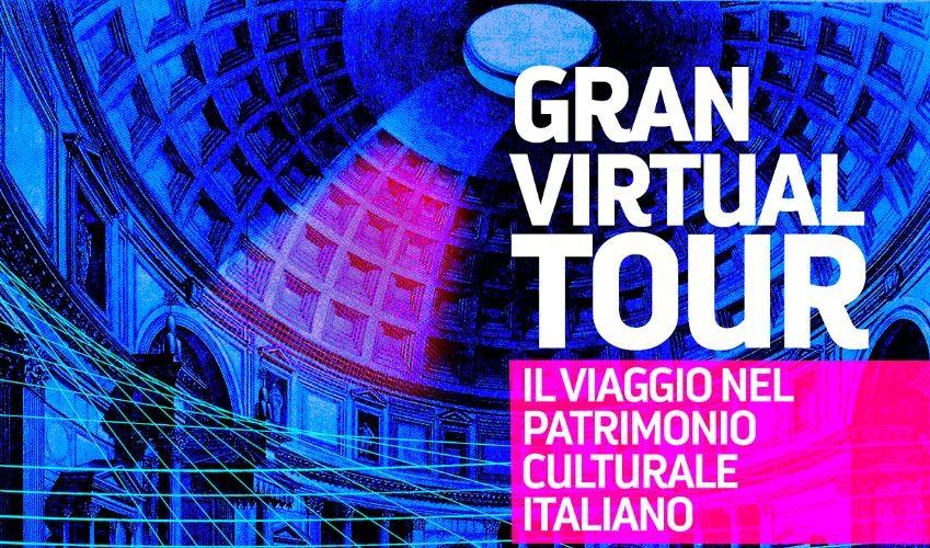 """""""Gran virtual tour"""" del patrimonio culturale"""