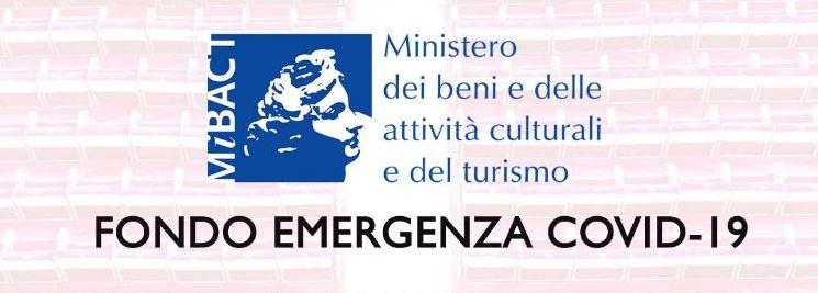 Fondo emergenza covid 2020 spettacolo
