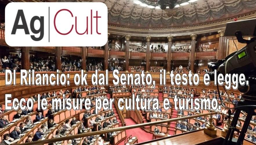 """Gli interventi per cultura e turismo nel decreto """"rilancio"""""""