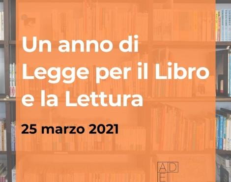 Un anno di legge per la promozione della lettura